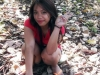 01 - Filipina Kneeling outside befoe giving me a blowjob.