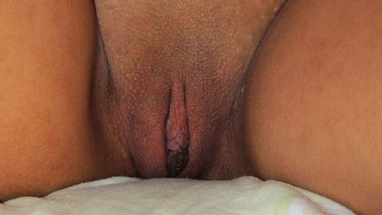A very tight and shaved smooth Filipina pussy up close before it gets WRECKED!