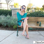 Kat waits on park bench for white dick